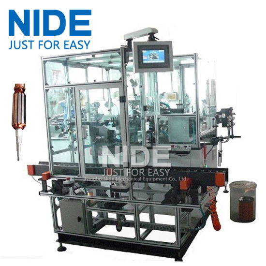 Double Winding Flyer Automatic Rotor Coil Winder for Hook Type Commutator pictures & photos