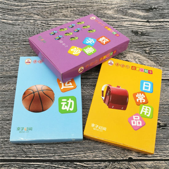 Cusotmized Game Cards Educational Cards Flashcards for Children Study pictures & photos
