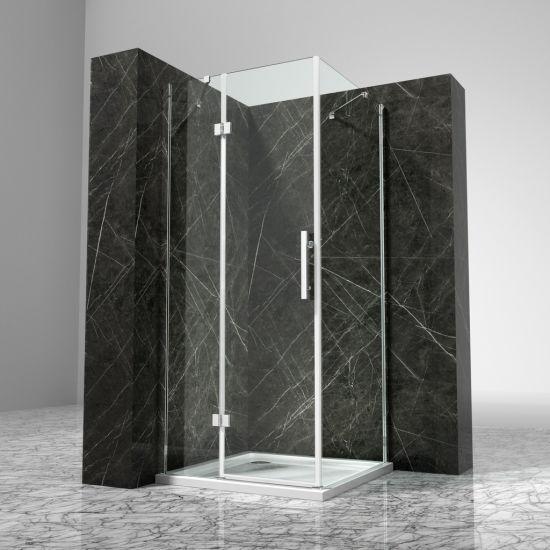 China Clear 6mm Transparent Glass Shower Room Manufacturer Sale