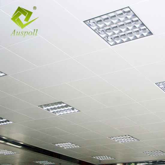 Perforated Aluminum Interior Decorative Clip In Ceiling Tile Snap