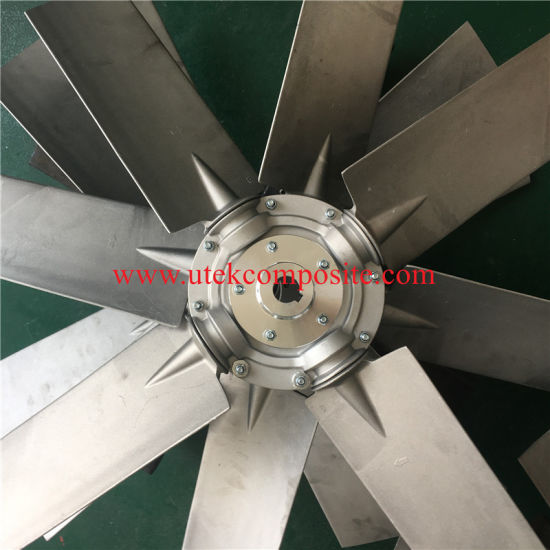 Fire Rated Aluminum Impeller for Axial Flow Fan