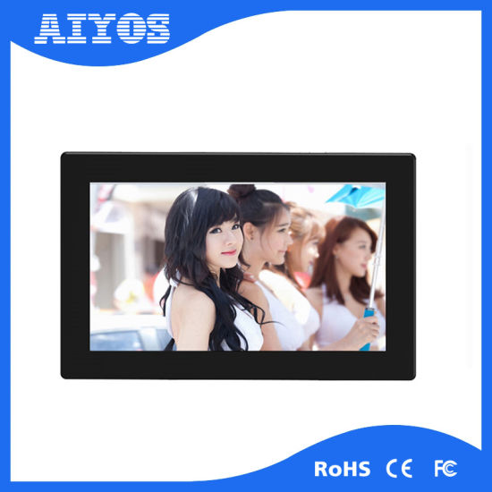 China Promotional Autoplay Music Video 9 Inch WiFi Digital Frame ...