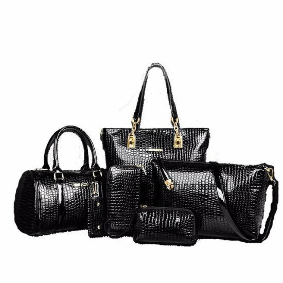 045bee8b3c03 Factory Price Fashion 6 Piece Woman Bag Set Leather Ladies Bags Handbag