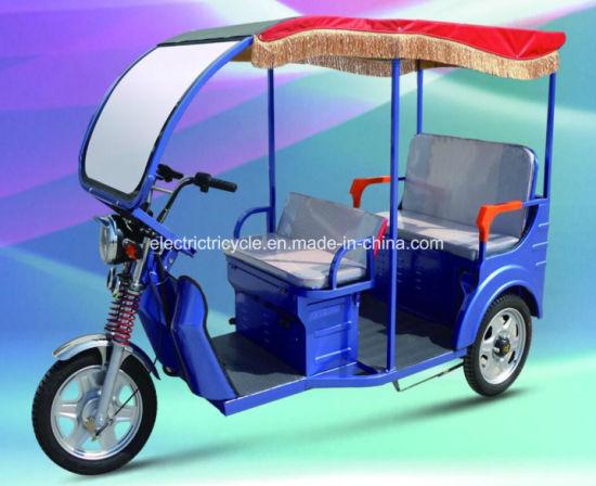 Bangladesh Three Wheel Battery Powered 48V 1000W Tricycle, Electric Rickshaw