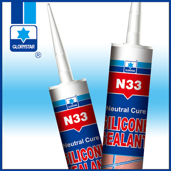 Flexible Silicone Sealant For Bonding Stainless Steel Metal