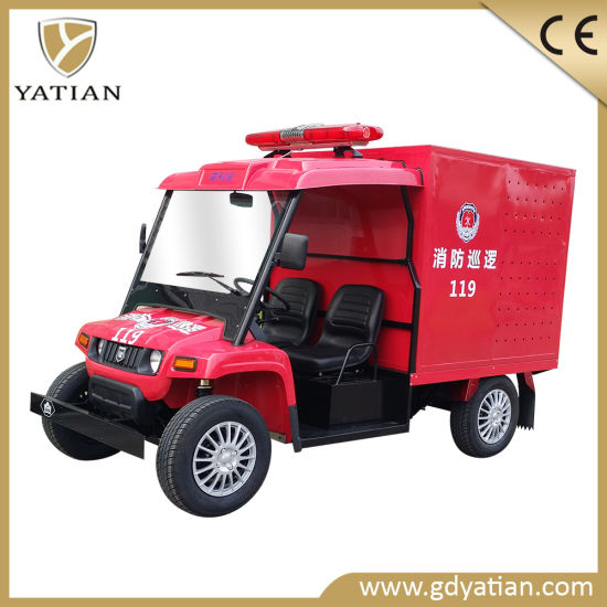 Hottest Sale 4 Wheeler Ce Approval Fire Fighting Truck pictures & photos