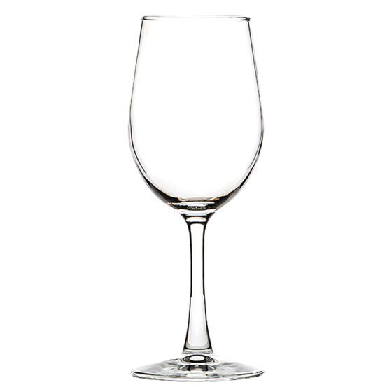 High Quality Glass Goblet Clear Colored Mouth Blown Wine Cup Use for Drinking pictures & photos