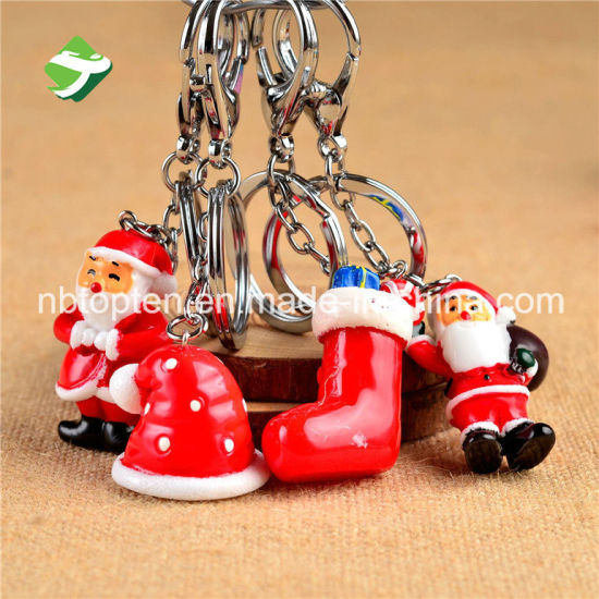 Promotion Christmas Zinc Alloy Keychain pictures & photos