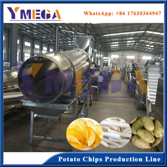 Complete Production Line to Make Fried Potato Chips pictures & photos