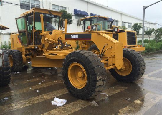 Used Road Construction Motor Grader Caterpillar Road Construction Machinery