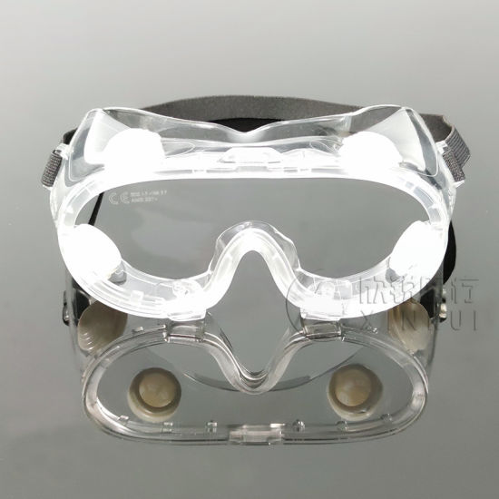 Safety Glasses Transparent Anti-Fog Full View Protective Goggles