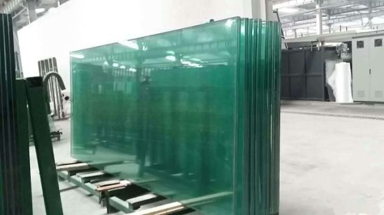 Thickness 4mm, 5mm, 6mm, 8mm, 10mm, 12mm Clear Semi Tempered Glass pictures & photos