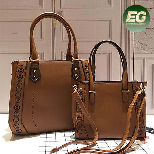 Hot Sale Handbags Famous Lady Tote Bag with Same Small Bags Sh403
