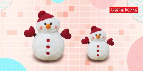 Christmas Toys Stuffed Plush Snowman