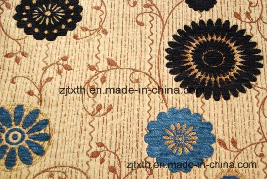 Sofa Tapestry Fabric Chenille Fabric (FTH31137)