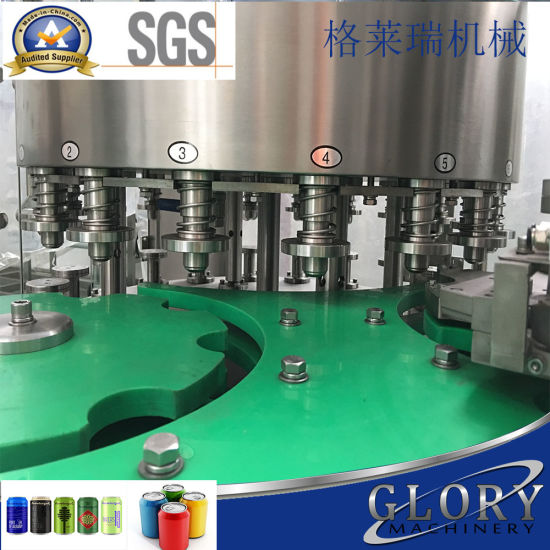 Auto Beer Can Filling Machine pictures & photos