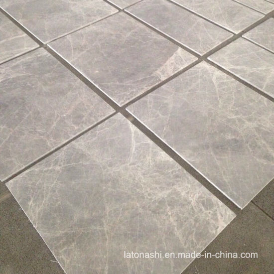 Grey Skyros Silver Marble Wall Tile