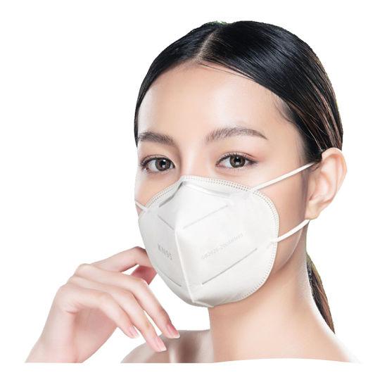 Disposable Non-Woven Kn95 Folding Half Face Mask for Self Use