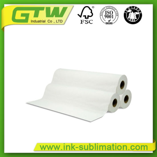 China Large Format 100GSM Sublimation Paper in Roll Size for