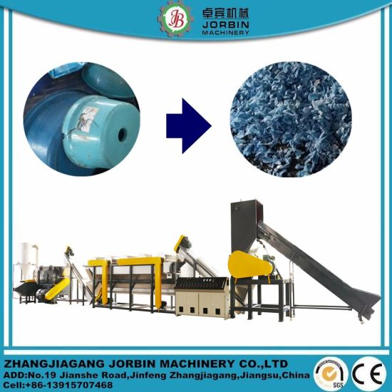 Full Automatic Waste Plastic HDPE LDPE PP Woven Box Can Recycling Washing Line/Washing Machine for South American Customer