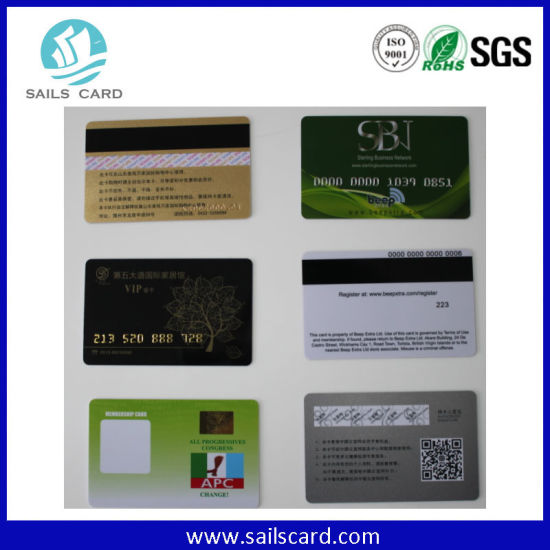 PVC Customizable RFID Hotel Key Card pictures & photos