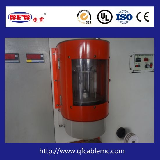 High Speed Double Layer Vertical Cable Wrapping Machine, Taping Machine