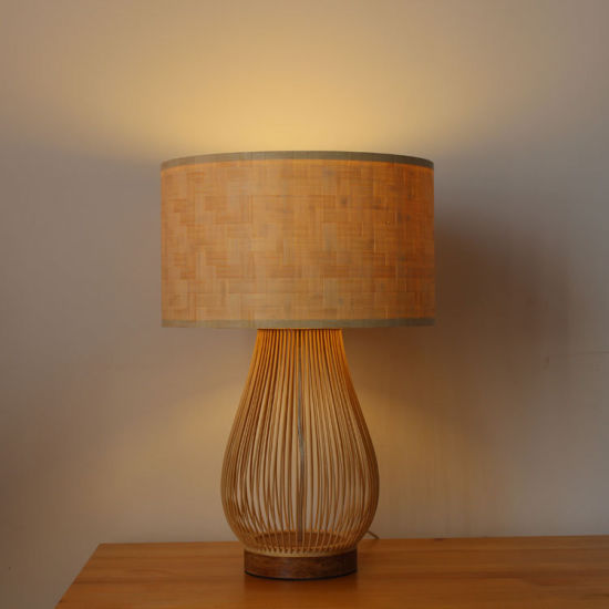 Bamboo Table Lamp Desk Lamp pictures & photos