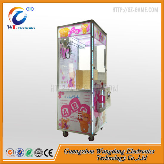 Coin Acceptor Plush Toy Claw Crane Machine pictures & photos