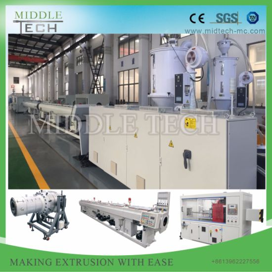 Reliable Quality Plastic HDPE&PE Water Sewage/Drainage Pipe/Tube/Hose Extrusion Production Line