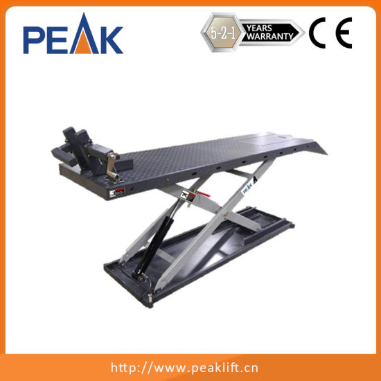China Factory Ce Roval Garage Motorcycle Scissor Lift Table Mc 600