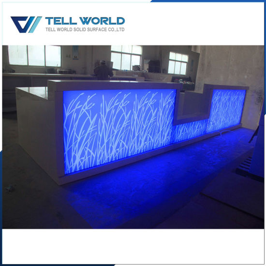 China translucent stone corian commerical led lighted bar counter translucent stone corian commerical led lighted bar counter mozeypictures Image collections