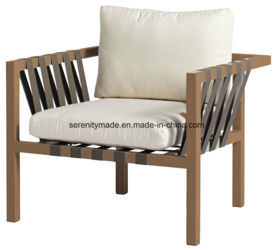 Wooden Furniture Stylish Living Room Restaurant/Bar/Cafe Fabric Padded  Wooden Lounge Chair