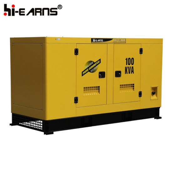 Water-Cooled Diesel Generator Set Silent Canopy Cummins Engine (GF2-70KW)