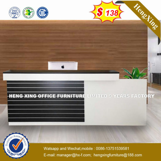 Popular Simple Guangzhou Supervisors Table Reception Desk (HX-8N2504) pictures & photos