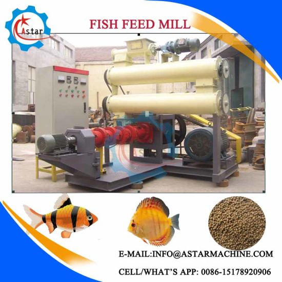 Made in China Fish Food Production Line in Tanzania pictures & photos