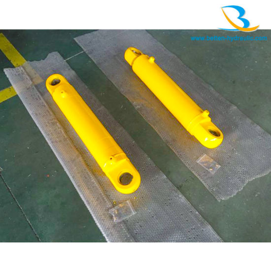 Double Acting Power Hydraulic Cylinder for Construction Vehicle pictures & photos