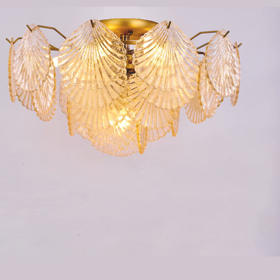 Design Europe Style Hotel Project Crystal Glass Chandelier Ceiling Light for Bedroom pictures & photos