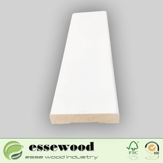 China Primed Wood Moulding Custom High Quality Wood