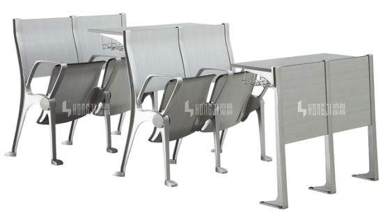 New Design Aluminum University Teaching Classroom School Student Desk Chair pictures & photos