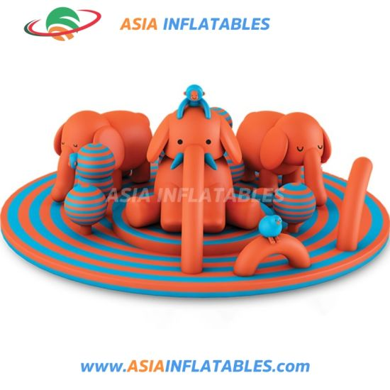 Round Pig Theme Inflatable Playground, Outdoor Inflatable Amusement Park pictures & photos
