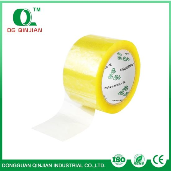 OEM Waterproof BOPP Adhesive Clear Packing Tape pictures & photos