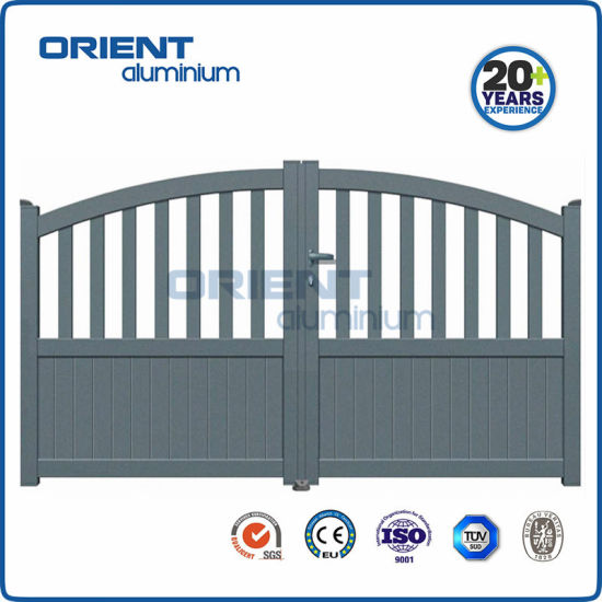 3000mm*1800mm Aluminium Swing Gate with Automatic Open for Home Garden