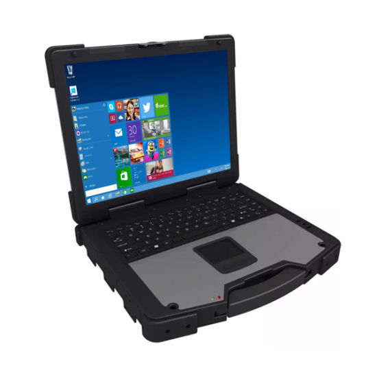 Military Rugged Laptop Gaming Laptop 12000 mAh Battery Intel Core I3/I5/I7 Laptop Computer
