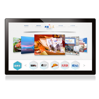 17.3inch Touch Screen Digital LED Video Frame