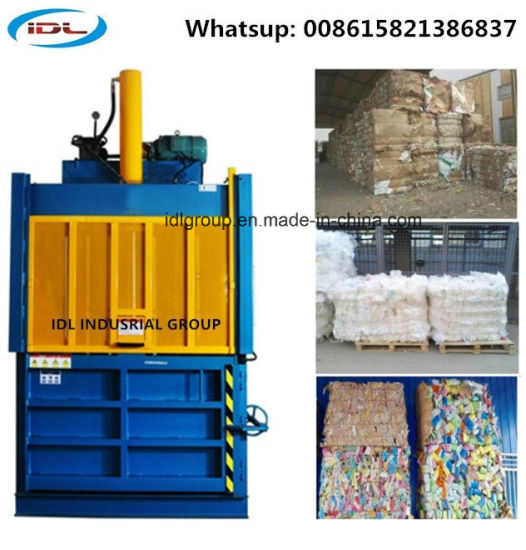 Hydraulic Baling Machine for Pressing Used Carton Box