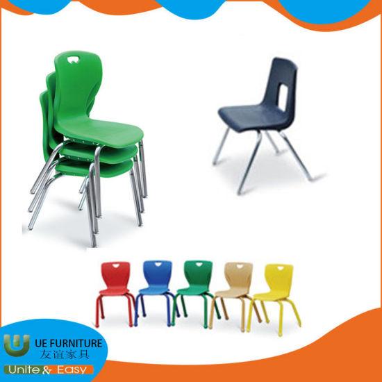 Top Quality Factory Wholesale School Folding Metal Legs School Plastic Students Chairs