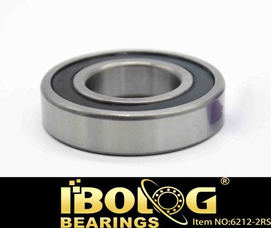 Thin Wall Thrust Deep Groove Ball Bearing Sealed Open Type Motorcycles Parts Model No. 6212 pictures & photos