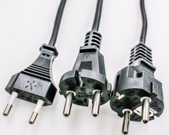 European VDE Schuko 3-Pin Waterproof IP44 Power Plug