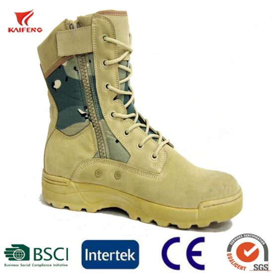 Military Army Tactical Combat Leather Camouflage Desert Jungle Boots  Certified 8ce80a71514