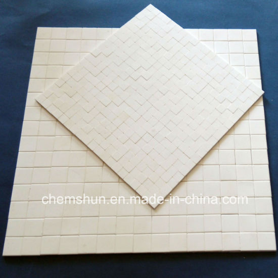 Alumina Ceramic Hex Tile Mat on Nylone Net pictures & photos